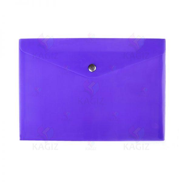 پوشه پلاستیکی دگمه دار A4 بسته 10عددی