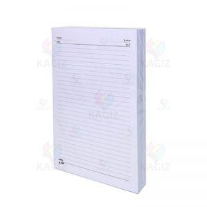 کاغذA480-گرم-خطدارسفید